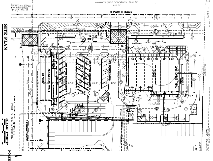 Districts – Car Wash Site Plans